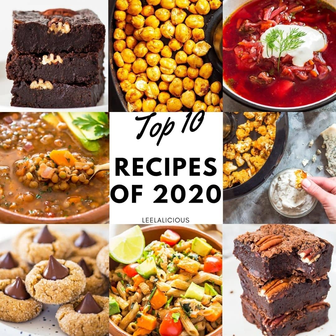 Top 10 Recipes of 2020 Leelalicious
