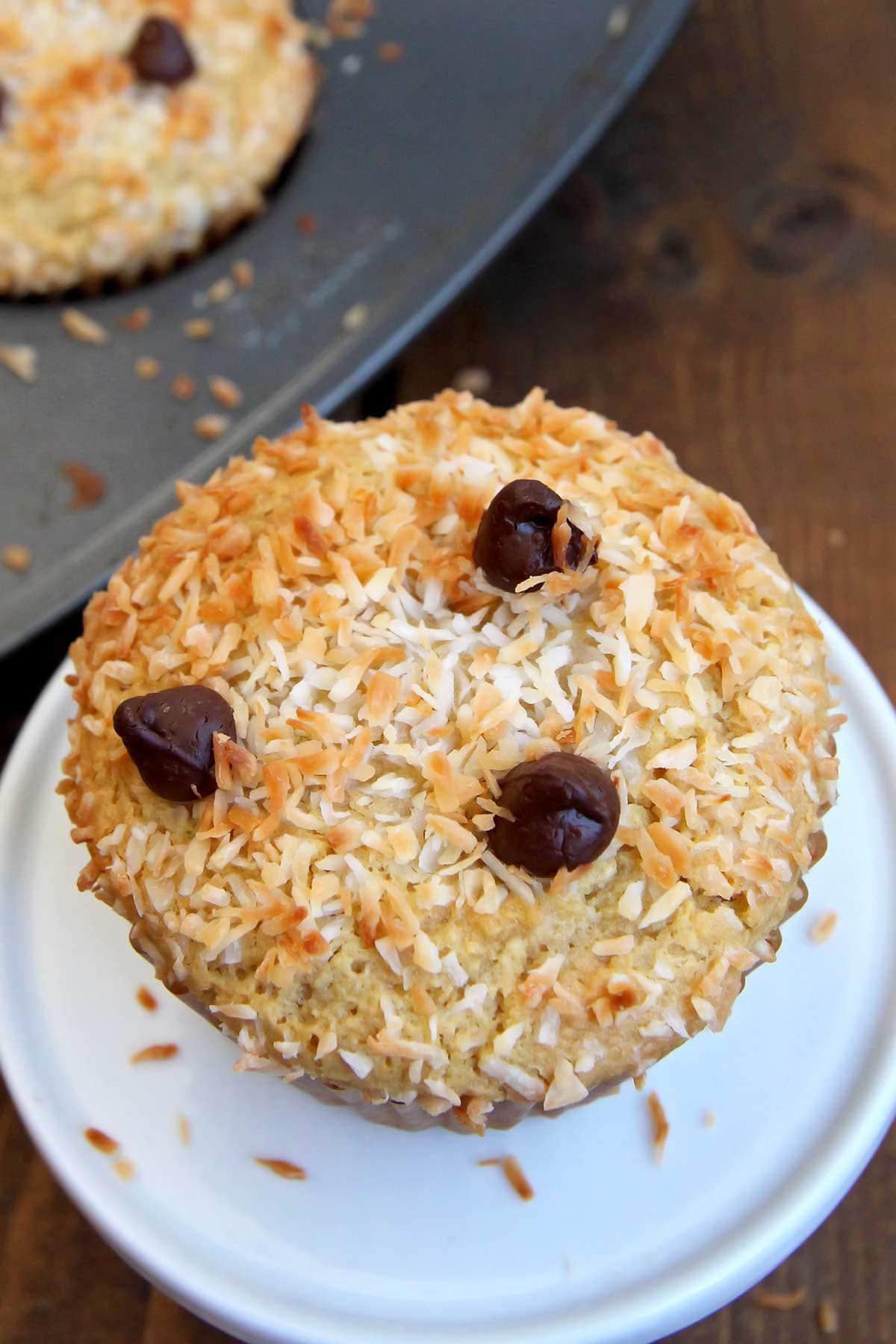 Gluten Free Almond Joy Cupcakes