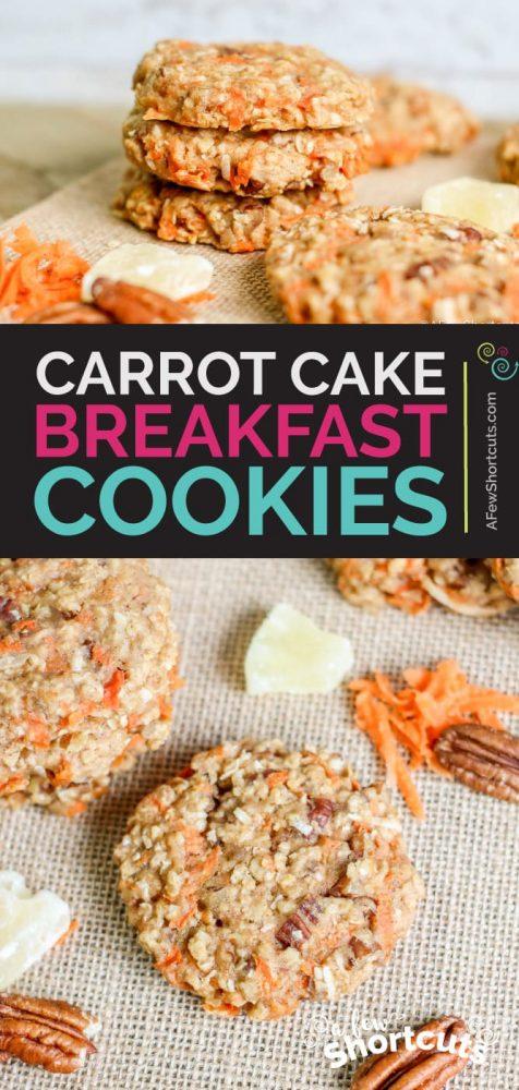 carrot breakfast cookie recipe