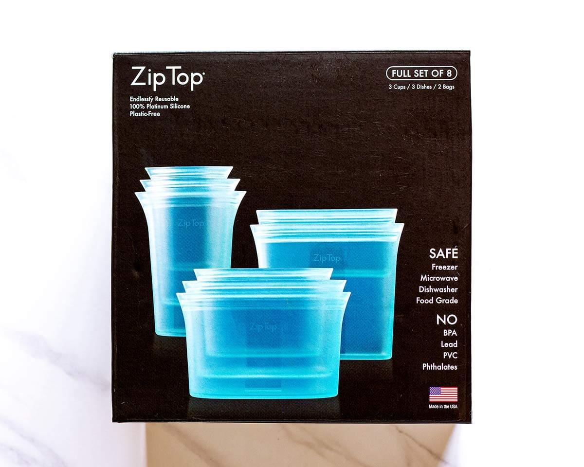 Zip Top reusable container set